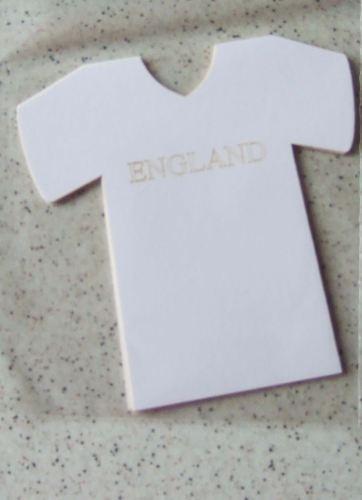 Laser Cut England Sport Shirts