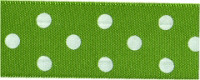 Berisfords Polka Dot Ribbon - 25mm wide