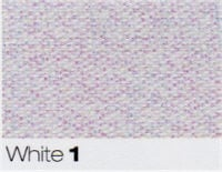 Berisfords Ribbon - Metallic Dazzle - White - 15mm