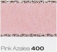 Berisfords Ribbon - Metallic Edge Satin - Pink Azalea