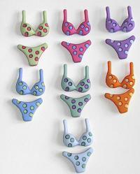 Buttons - Bikinis