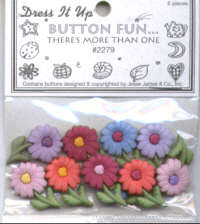Buttons - Daisies