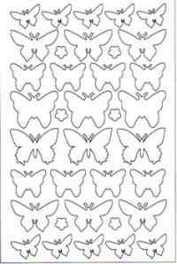 3D Foamies - Butterflies