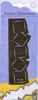 Alphabet Embossing Stencil - 1403