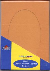 Oval Aperture Cards - Paprika