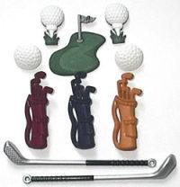Buttons - Golf