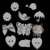 Buttons - White Collection