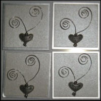 Crafts Too Adhesive Card Accessories - Hearts