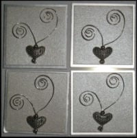 Card Accessories - Hearts