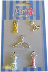 Card Charms - Dresses