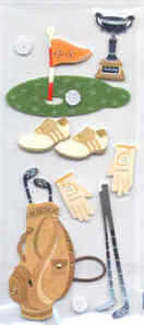 Card Embellishments - Golf