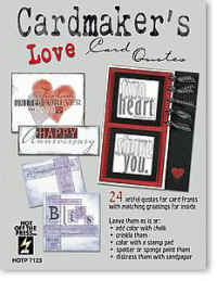 Hot Off The Press Cardmaker's Love Card Quotes