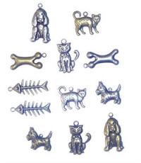 Scrapbook Basics Cats & Dogs Charms