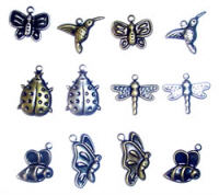Scrapbook Basics Insects Charms