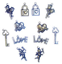 Scrapbook Basics Love Charms