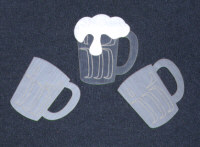 Light Arted Designs - Beer Mugs