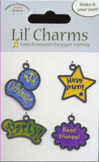 Lil' Charms - Celebration Words