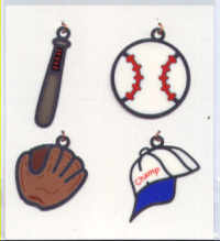 American Traditional Designs Lil' Charms - Baseball