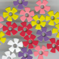Eyelets - Funky Flower Assortment