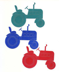 Light Arted Designs Laser Cut - Tractors