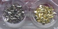 Mini Brads - Squares - Gold & Silver