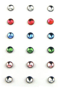 Rob and Bob Studio - Snap-Ease Fasteners - Assorted Jewels