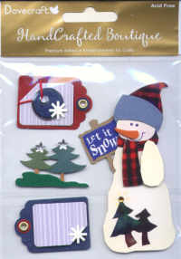 Handcrafted Boutique - Snowman & Tags