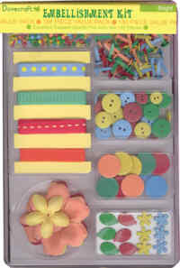 Dovecraft Embellishment Kit - Brights
