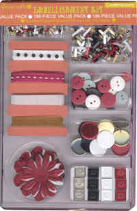 Dovecraft Embellishment Kit - Contemporary