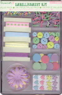 Dovecraft Embellishment Kit - Pastels