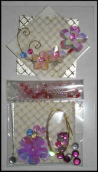 Crafts Too Flowers Embellishment Kit