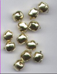 Gold jingle bells - 9mm