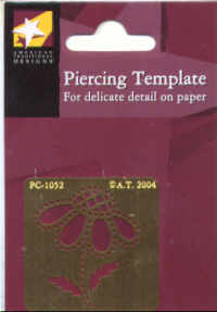 American Traditional Piercing template - Daisy Small