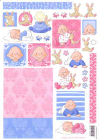 Decoupage Papers - Baby