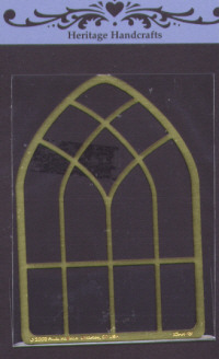 Heritage Handcrafts - Arched Cathedral Window