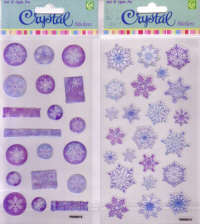 Crystal Stickers - Snowflakes
