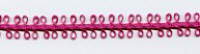 Double Loop Ribbon - Magenta
