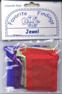 Favourite Findings Keepsake Bags - Jewel