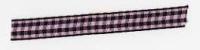 Gingham Ribbon - Pink & Black