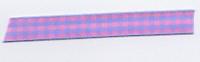 Gingham Ribbon - Pink & Pastel Blue