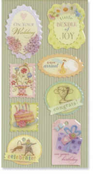 K & Company Beyond Postmarks Occasion Tags