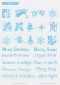 Letraset Foil Transfers - Christmas