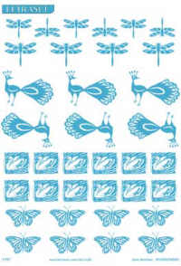Letraset Foil Transfers - Naturals