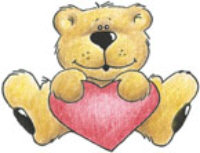 Stamp It - Bear Heart