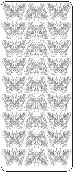 Peel Off Stickers - Butterflies