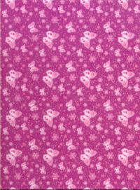 Butterfly Card - Purple Glitter