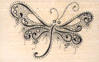 Stampendous - Butterfly Points