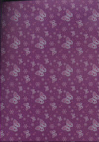 Butterfly Vellum - Purple