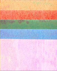 Pearl Rainbow Card - Garden