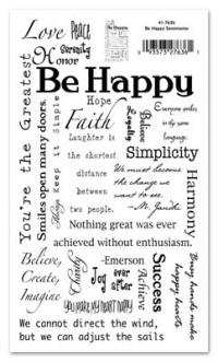 Memory Rub-Ons - Be Happy